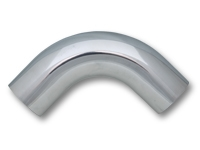 "Vibrant 2881 2 3/4"" O.D. Aluminum 90 Degree Bend - Polished"