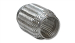 "Vibrant 60604 2.00"" x 4.00"" Stainless Steel TurboFlex Coupling with Interlocking Liner"