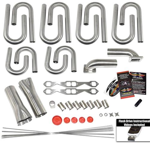 Small Block Chevy Turbo Header Builder Kit