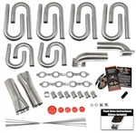Small Block Ford- Windsor 205cc Renegade Custom Turbo Header Build Kit