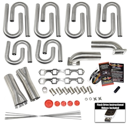 Small Block Ford Windsor Turbo Header Kit