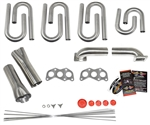 Subaru EZ30R Custom Turbo Header Build Kit