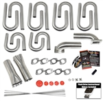 Splayed Valve Small Block Chevy Custom Turbo Header Build Kit