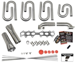 Toyota 2JZ-GTE Custom Turbo Header Build Kit
