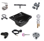 classic salon shampoo backwash sink kit