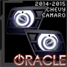 LED Waterproof Projector Fog Halo Kit by Oracle - Fits 2014-2015 RS & Non-RS Camaro models