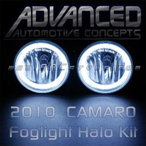 2010 2011 Camaro Phastek Fog Light Halo Kit by Oracle