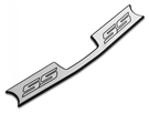 American Brothers Designs Trunk Sill, SS Logo :: 2010-2015 Camaro SS