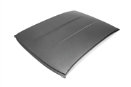"""Dry"" Carbon Roof Replacement :: Fits all 2010-2015 Camaro models"
