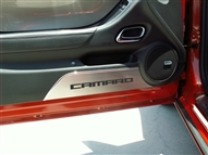 "American Car Craft Door Panel Kick Plates ""Camaro"" :: 2010-2015 Camaro"