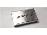 "American Car Craft Fuse Box Cover and ""RS"" Top Plate, Polished/Brushed :: 2016-2020 V6, 2.0 RS Camaro"