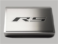 "American Car Craft Fuse Box Cover and ""RS"" Top Plate, Brushed/Brushed :: 2016-2020 V6, 2.0 RS Camaro"