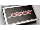 "American Car Craft Fuse Box Cover and ""SS"" Top Plate, Brushed/Carbon Fiber :: 2016-2020 V8 SS Camaro"