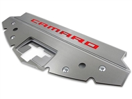 "American Car Craft Front Header Plate ""Camaro"" Inlay, Stainless Steel :: 2016-2020 Camaro"