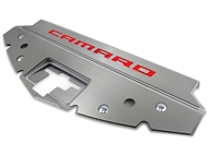 "American Car Craft Illuminated Front Header Plate ""Camaro"" Inlay, Stainless Steel :: 2016-2020 Camaro"