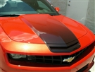 2010 2011 2012 2013 Camaro Cowl Hood Fade Graphic #102024 By American Car Craft