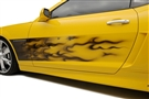 2010 2011 2012 2013 2014 2015 Camaro Graphic Gradient Flame Side Sport Fade (AirBrushed) #102025 By American Car Craft