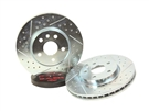 Camaro Decelarotor Brake Rotors - Drilled and Slotted (Front) by Baer - fits all 2010, 2011, 2012, 2013 & 2014, 2015 Camaro SS & 1LE models