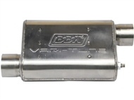 "2.75"" Vari-Tune Adjustable Performance Muffler, Double Offset (Stainless Steel) :: Universal Fit"