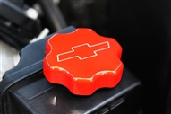2010 2011 2012 2013 Camaro Power Steering Cap w/ Bowtie (Polished, Black, Satin, or Orange) By Billet Custom