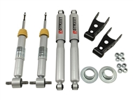 "Belltech Lowering Kit With Street Performance Shocks, +1"" to -2"" Front / 2""-3"" Rear :: 2014-2018 Silverado 1500 2WD"