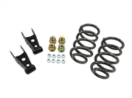 "Belltech Lowering Kit Without Shocks, 1""-2"" Front / 2""-3"" Rear :: 2014-2015 Silverado 1500 2WD Extended & Crew Cab"