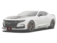 Sto N Sho Detachable Front License Plate Bracket 2016-2019 Camaro with Chevrolet Front Splitter