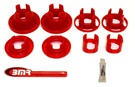 2010 2011 2012 2013 Camaro BMR Bushing Kit, Rear Cradle, Polyurethane, Inserts Only, Street Version #BK016