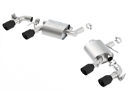 Borla S-Type Axle-Back Exhaust for Dual Mode (NPP) - Ceramic Black :: 2016-2020 Camaro SS Coupe