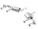 Borla S-Type Axle-Back Exhaust for Dual Mode (NPP) #11924 :: 2016-2021 Camaro SS, ZL1
