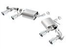 2016-2018 Camaro V6 Borla S-Type Exhaust 11931 Axle-Back - With NPP - Quad Tips
