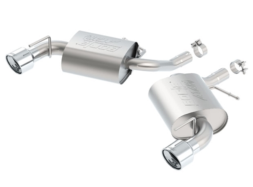 2016-2018 Camaro 4cyl Turbo Borla ATAK Exhaust 11934 - 2.0L 4 cylinder Turbocharged Camaro Exhaust
