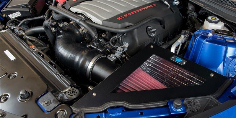 Cold Air Inductions Cold Air Intake (Textured Black) :: 2016-2019 Camaro SS  LT1 V8