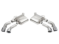 Corsa Variable Sound Axle-Back Quad Tips :: 2016-2020 Camaro SS and ZL1