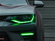 Diode Dynamics RGBW Upper & Lower DRL LED Boards - 2016-2018 Camaro