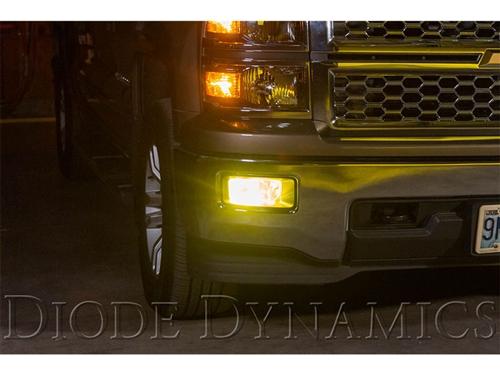 2014 2015 Chevy Silverado 1500 Fog Lights Bumper Lamp Blackout Kit