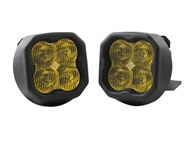 Diode Dynamics SS3 LED Fog Light Kit Yellow SAE/DOT Fog Sport :: 2014-2015 Sierra 1500