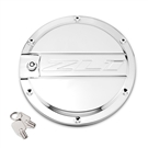 2012-2015 Camaro ZL1 Chrome Locking Fuel Door by DefenderWorx