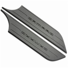 2010 2011 2012 2013 Camaro Black Powder Coated Kick Panel Covers #SD3-XA409