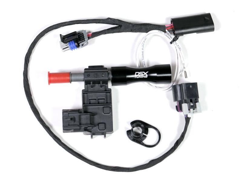 E85 Flex Fuel Sensor quick connect disconnect fuel line adapter fittings for GM