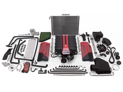 Edelbrock E-Force Supercharger #1597 - Stage1 / Street System / 599 HP & 547 TQ :: 2010-2013 Camaro 6.2L V8 (L99 Automatic)