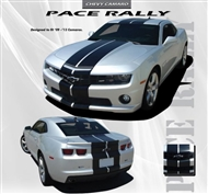 Pace Rally Vinyl Graphic :: Fits all 2010-2013 Camaro models