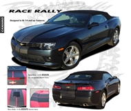 Race Rally Vinyl Graphic :: Fits all 2014-2015 Camaro models