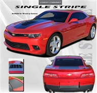 Single Stripe Vinyl Graphic :: Fits all 2010-2015 Camaro models