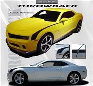 Throwback Vinyl Graphic :: Fits all 2010-2015 Camaro models