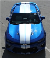 Turbo Rally Vinyl Graphic :: Fits all 2016-2018 Camaro models