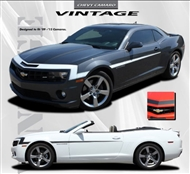 Vintage Vinyl Graphic :: Fits all 2010-2015 Camaro models