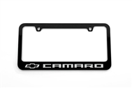 Camaro License Plate Frame Gloss Black 2010-2021