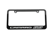 Camaro SS License Plate Frame Gloss Black 2010-2021