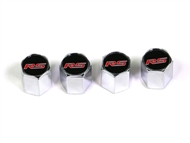 "Camaro ""RS"" Valve Stem Caps #5030331 - fits all 2010-2015 Camaro models"